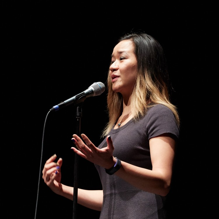 Annie Tan, Kevin Penczak for The Moth, Storyteller, Storytelling, Vincent Chin, Lily Chin, The Moth, The Moth Mainstage